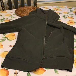 Lululemon scuba jacket black worn once size 10